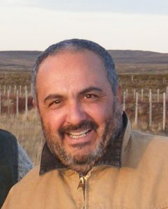 Raúl Lira, Ingeniero agrónomo del INIA Kampenaike