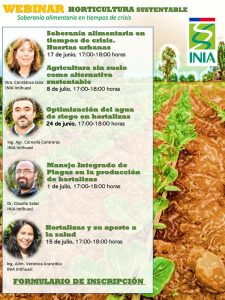 WEBINAR Manejo Integrado de Plagas en la producción de hortalizas @ Google Meet