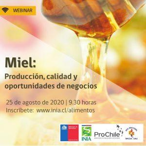 Webinar - Miel: Producción, calidad y oportunidades de negocio @ Google Meet