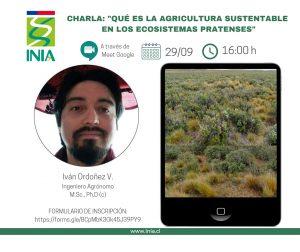 Charla virtual: Qué es la agricultura sustentable en los ecosistemas pratenses @ Google Meet