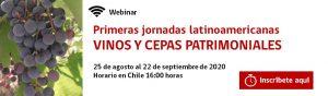 Primeras jornadas latinoamericanas de vino y variedades patrimoniales